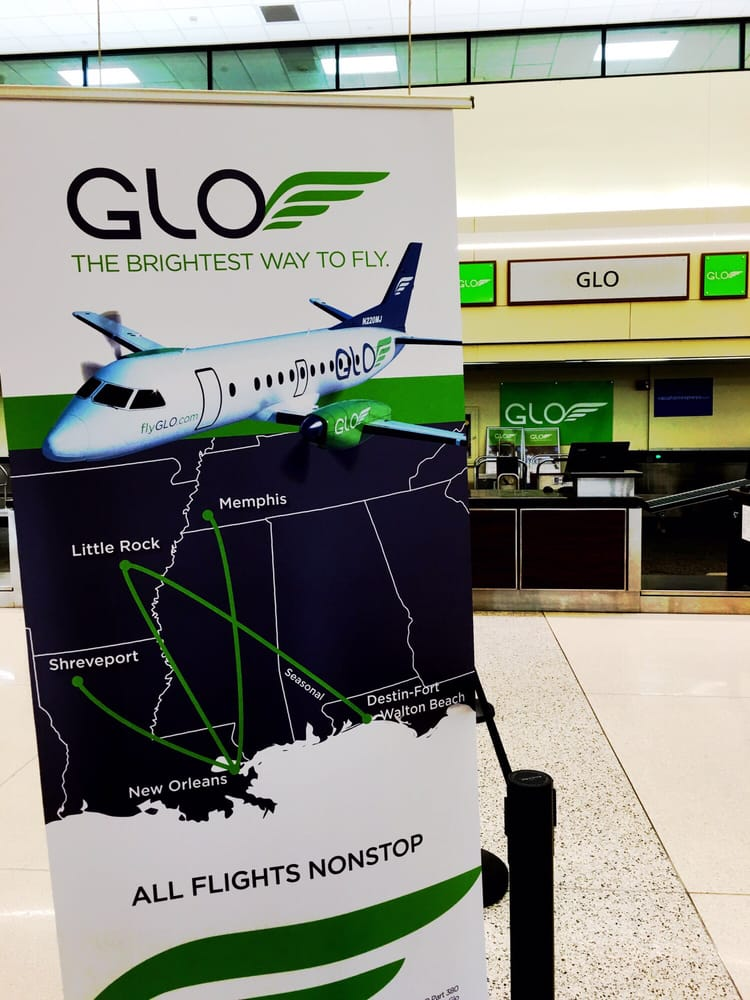Glo Airlines: Louis Armstrong International Airport, Kenner, LA