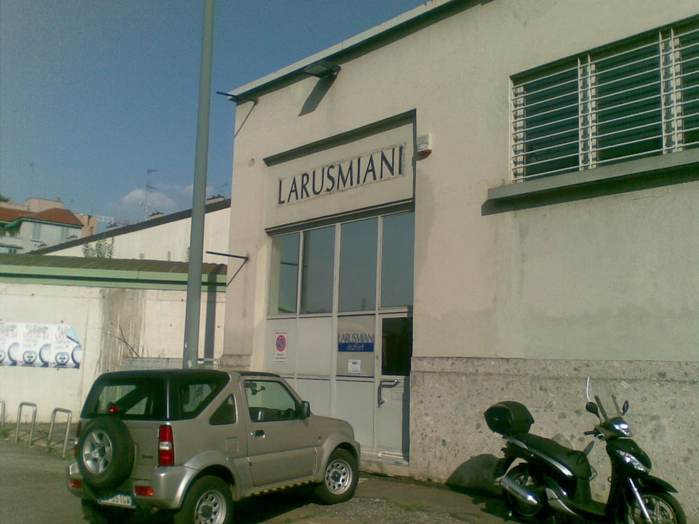 Larusmiani outlet magasin d usine outlet via ulderico ollearo 8 monumentale milan - Magasin d usine milan ...