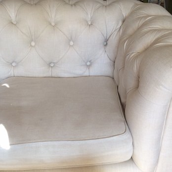 Photo of Restoration Hardware - New York, NY, United States. The couch (