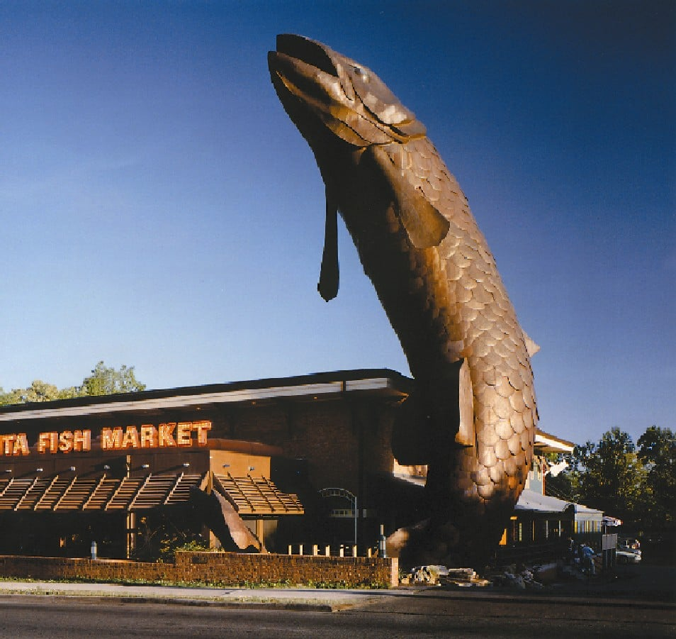 Exterior of the Atlanta Fish Market. - Yelp