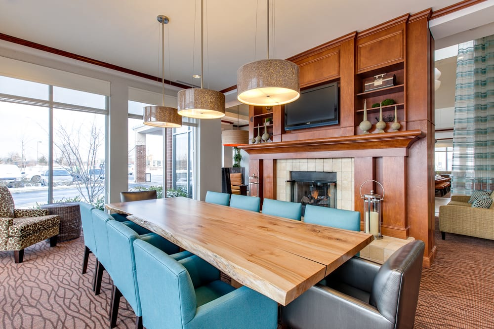 Hang out with friends and family at the Communal table in