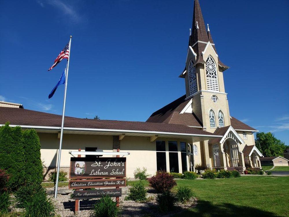 St John's Lutheran Church and School: 558 S Water St, Lomira, WI