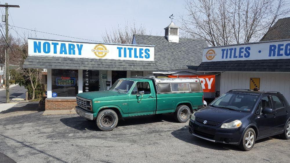 Greensburg Auto Tag & Notary: 249 W Pittsburgh St, Greensburg, PA