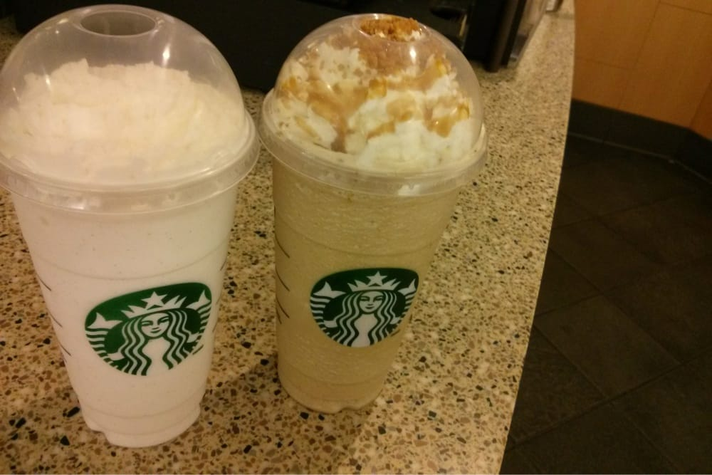 Vanilla Bean Latte And Caramel Ribbon Crunch Yelp