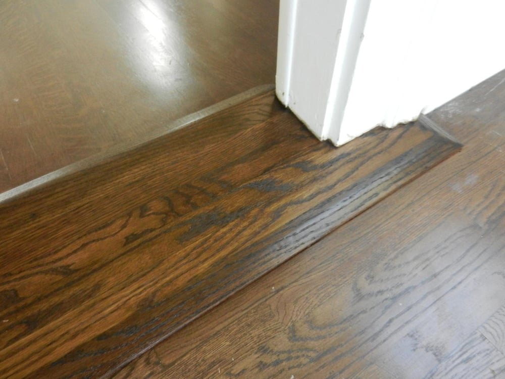 Photo Of Paul S Wood Flooring Gardena Ca United States Connecting Two Diffe