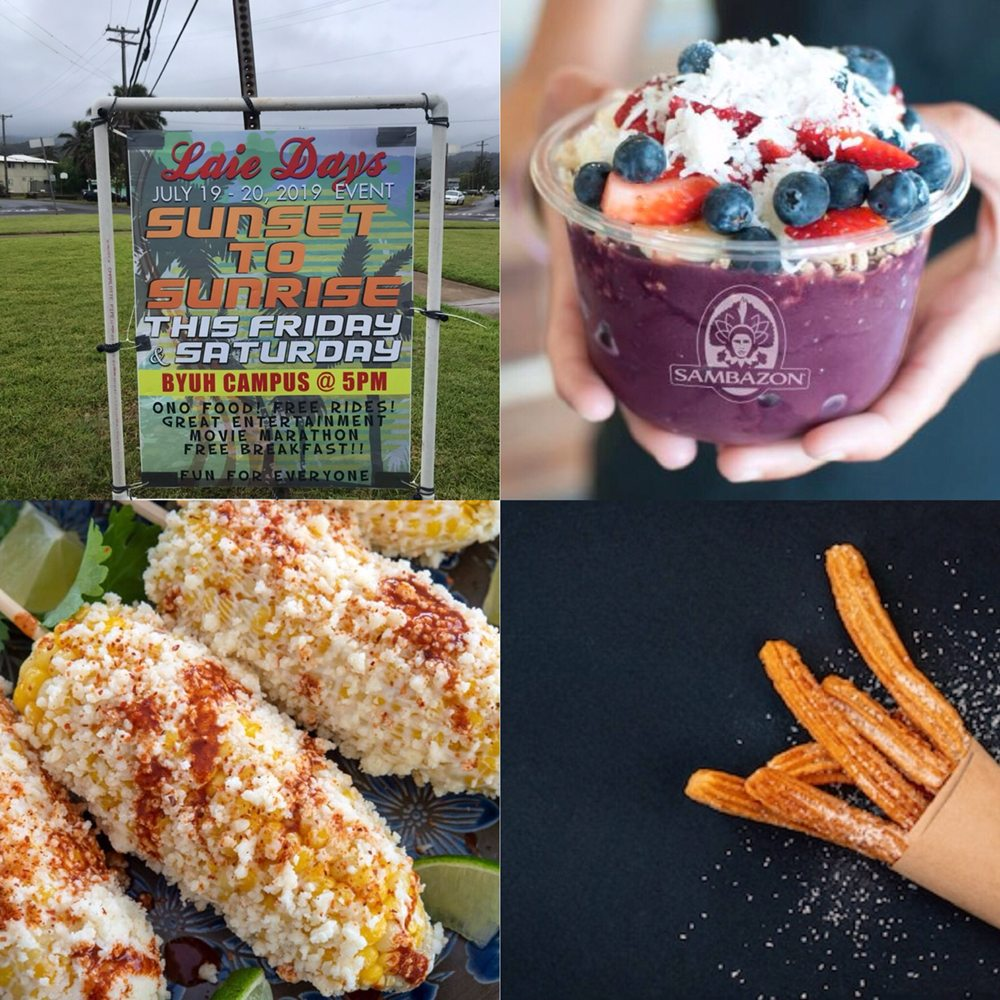 Beachside Food & Delights: 55-370 Kamehameha Hwy, Hauula, HI
