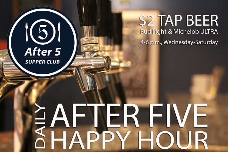After Five Supper Club: 205 8th Ave S, Madison, MN