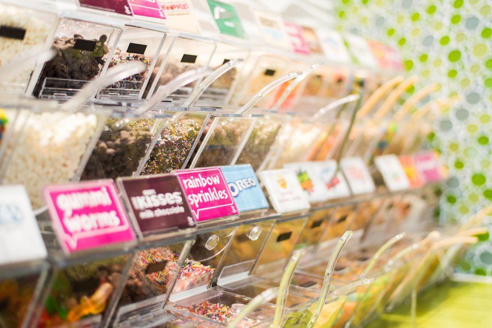 Coloring Pages For Yogurt : Menchie s frozen yogurt photos reviews ice cream