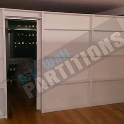 photo of al wall partitions new york ny united states free standing