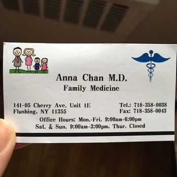 Anna gl chan md pc family practice 141 05 cherry ave downtown photo of anna gl chan md pc flushing ny united states reheart Images