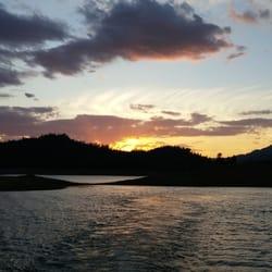 P O Of Jones Valley Resort Redding Ca United States Shastas Caramel Sunset
