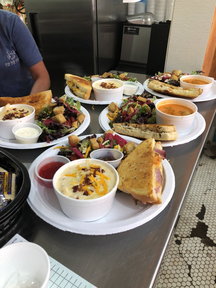 Food from Downtown Grilled Cheese Company