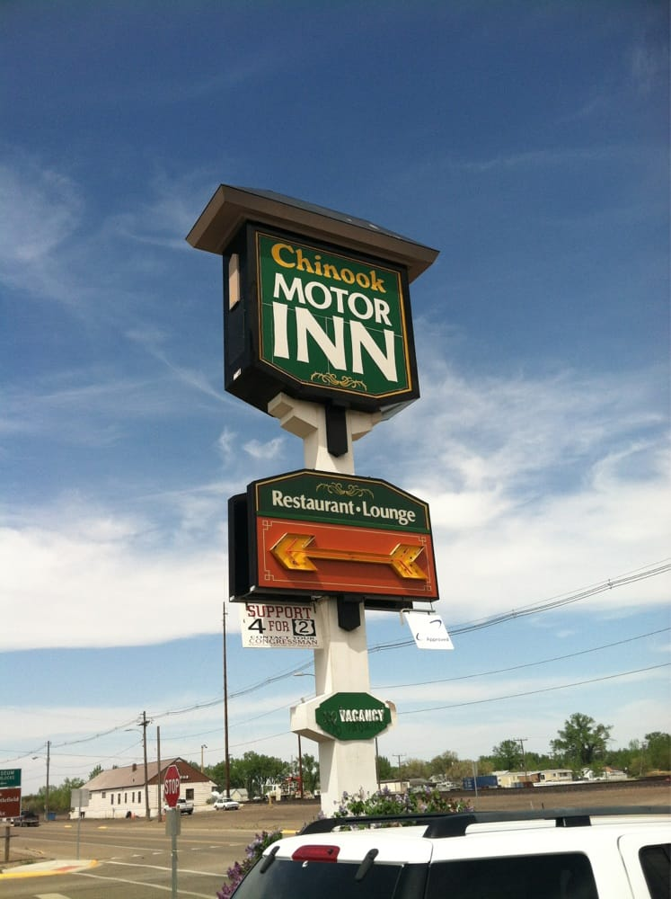 Chinook Motor Inn: 100 Indiana St, Chinook, MT
