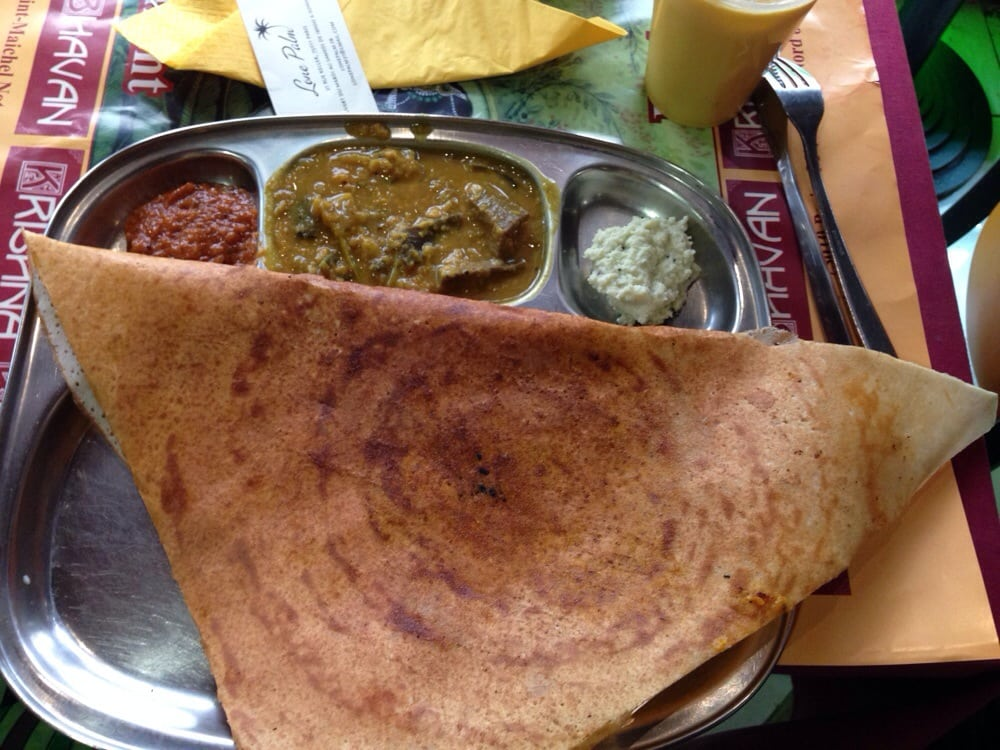 Onion dosa yelp for Krishna bhavan paris