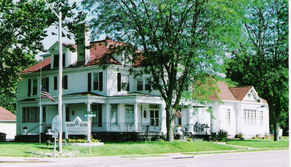 Weber-Hurd Funeral Home: 1107 N 4th St, Chillicothe, IL