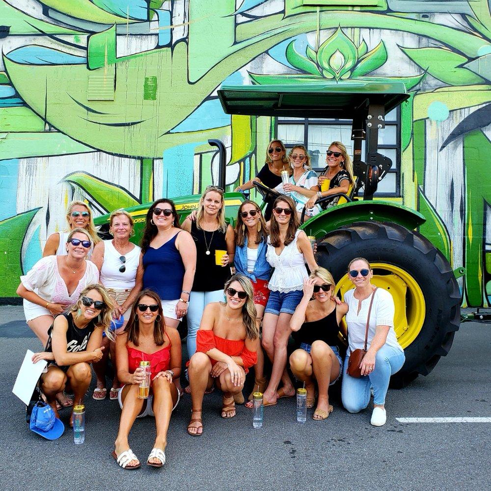 Big Green Tractor Tours: 701 Division St, Nashville, TN