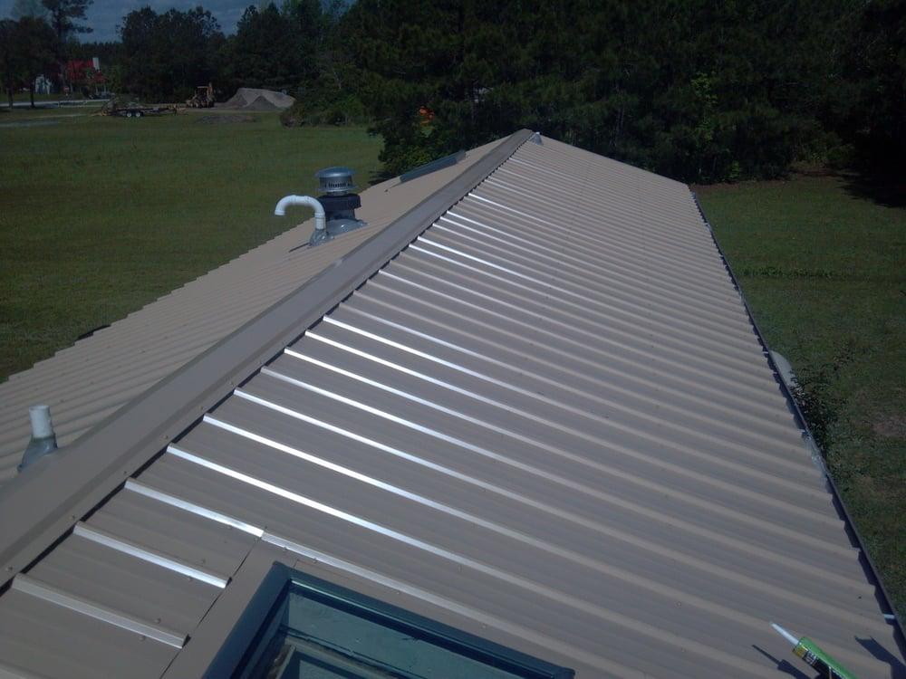 Rib Loc Metal Roof With New Skylights Yelp