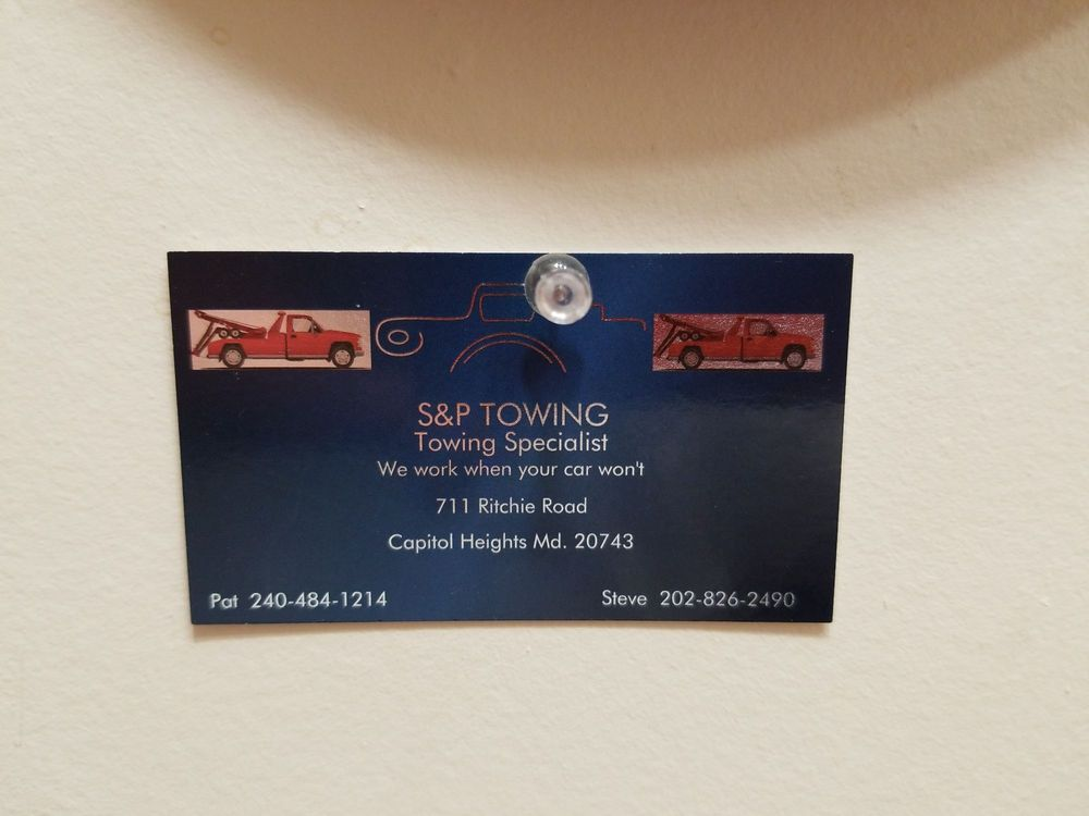 Towing business in Kettering, MD