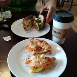 Photo of Bean Rush Cafe - Annapolis, MD, United States. Breakfast  sandwiches and