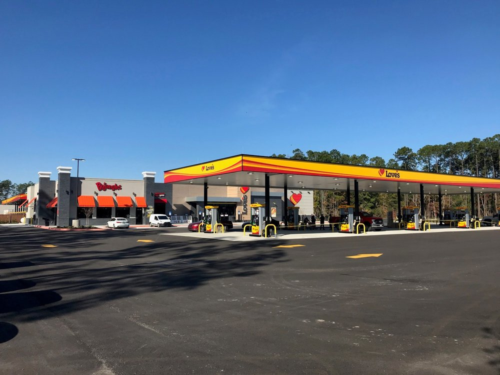 Love's Travel Stop: 17110 Brandy Branch Rd, Jacksonville, FL