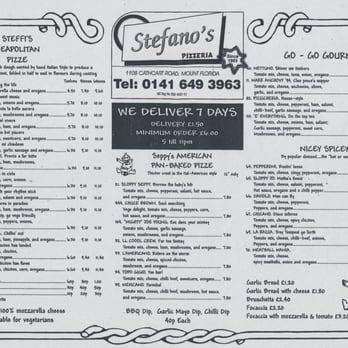 Stefano's Pizzeria on the Promenade - Picture of Stefanos Pizzeria ...