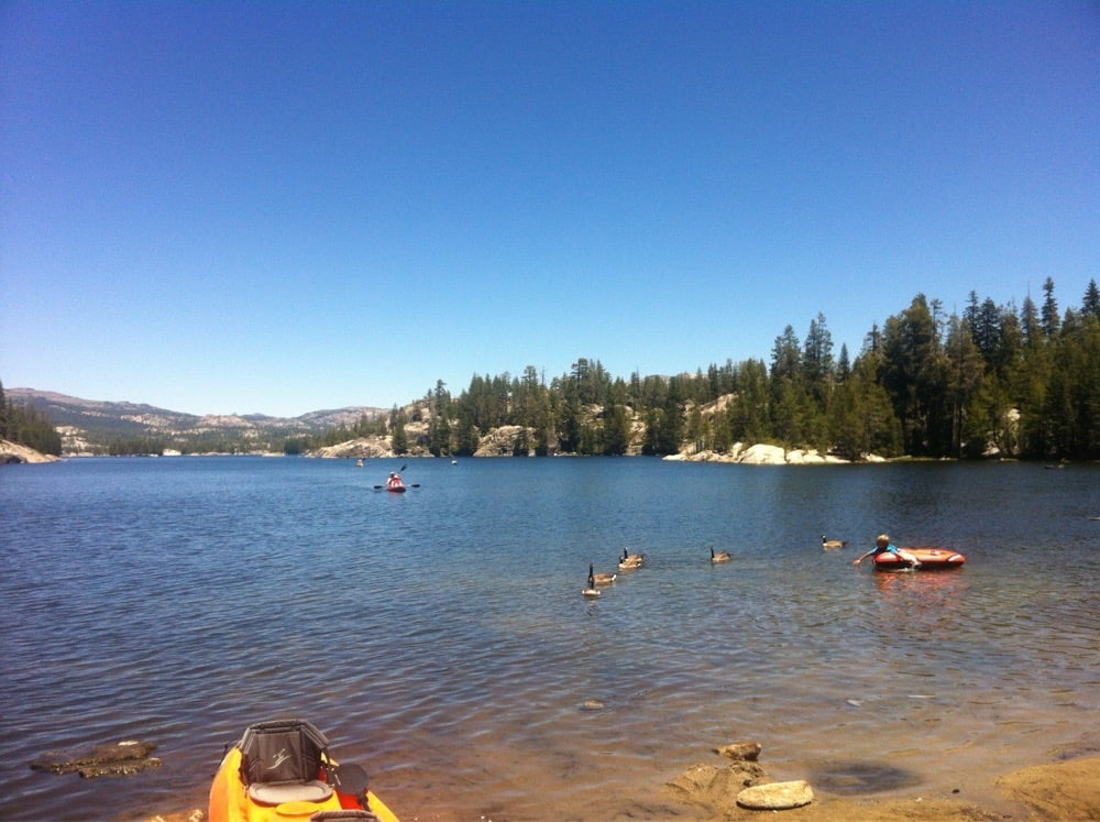 Utica and Union Reservoirs: Bear Valley, CA