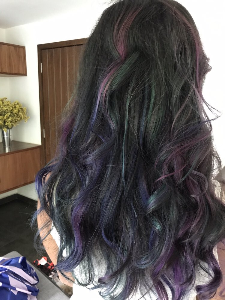 Fabulous Oil slick hair technique by Ric - Yelp &SP96