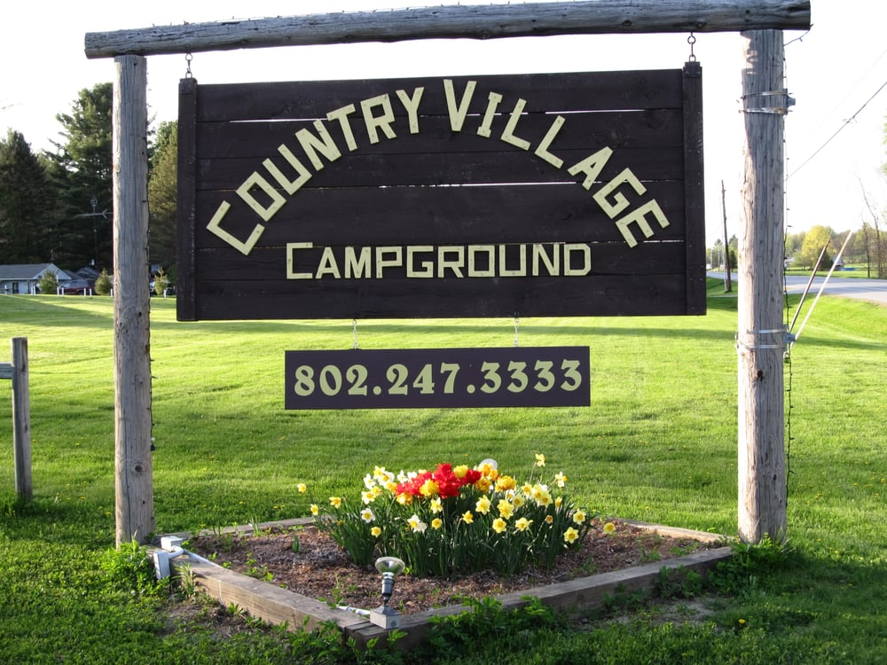 Country Village Campground: 40 US Rt 7, Leicester, VT