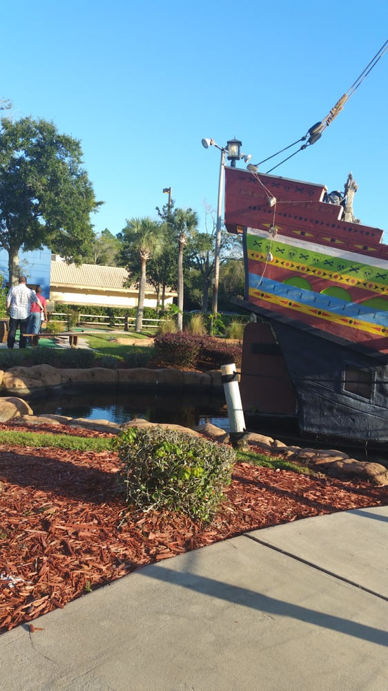 Pirate's Island Adventure Golf: 4330 W Vine St, Kissimmee, FL