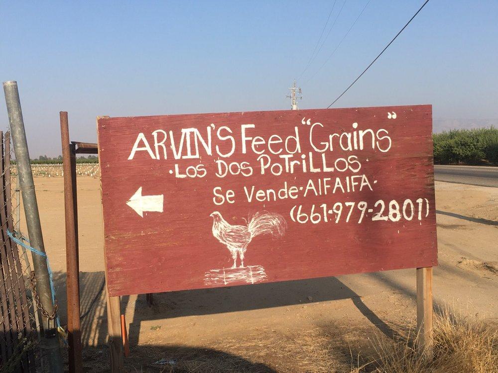 Forajas Arvin Feed Hay & Grain: 8220 E Bear Mountain Blvd, Arvin, CA