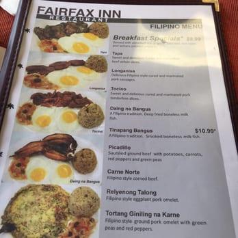 Fairfax Inn Restaurant