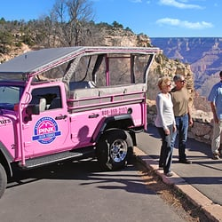 Photo Of Pink Jeep Tours   Tusayan, AZ, United States. Our Pink Jeeps