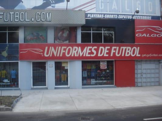 Galgo Futbol - Ropa deportiva - Insurgentes norte 110 e5d939412d4c4