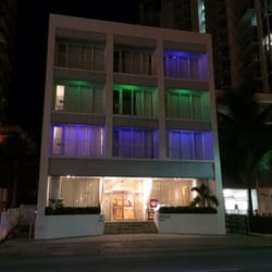 Photo Of Mimosa Hotel Miami Beach Fl United States At Night