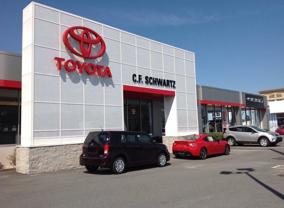 c f schwartz toyota bilforhandlere 1536 n dupont hwy dover de usa telefonnummer yelp. Black Bedroom Furniture Sets. Home Design Ideas