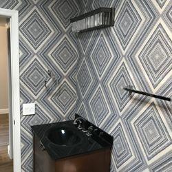 Photo of Wallpaper Company - Scottsdale, AZ, United States. Statement WOW bathroom