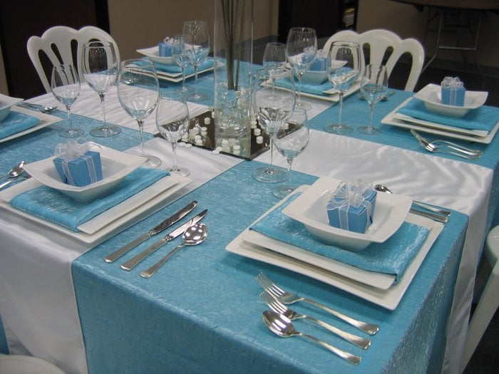 Photo of Stuart Event Rentals - Castro Valley CA United States. Tiffany Box & Tiffany Box Table Setting - Yelp