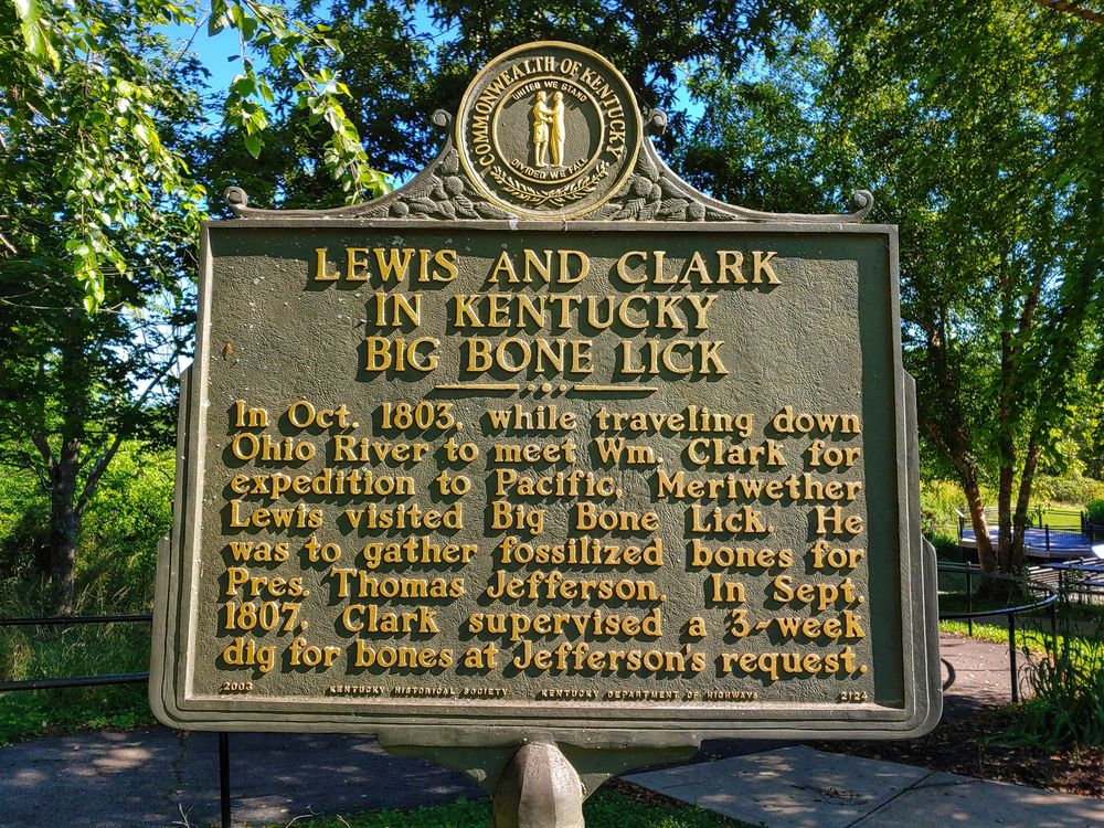 Big Bone Lick State Historic Site: 3380 Beaver Rd, Union, KY