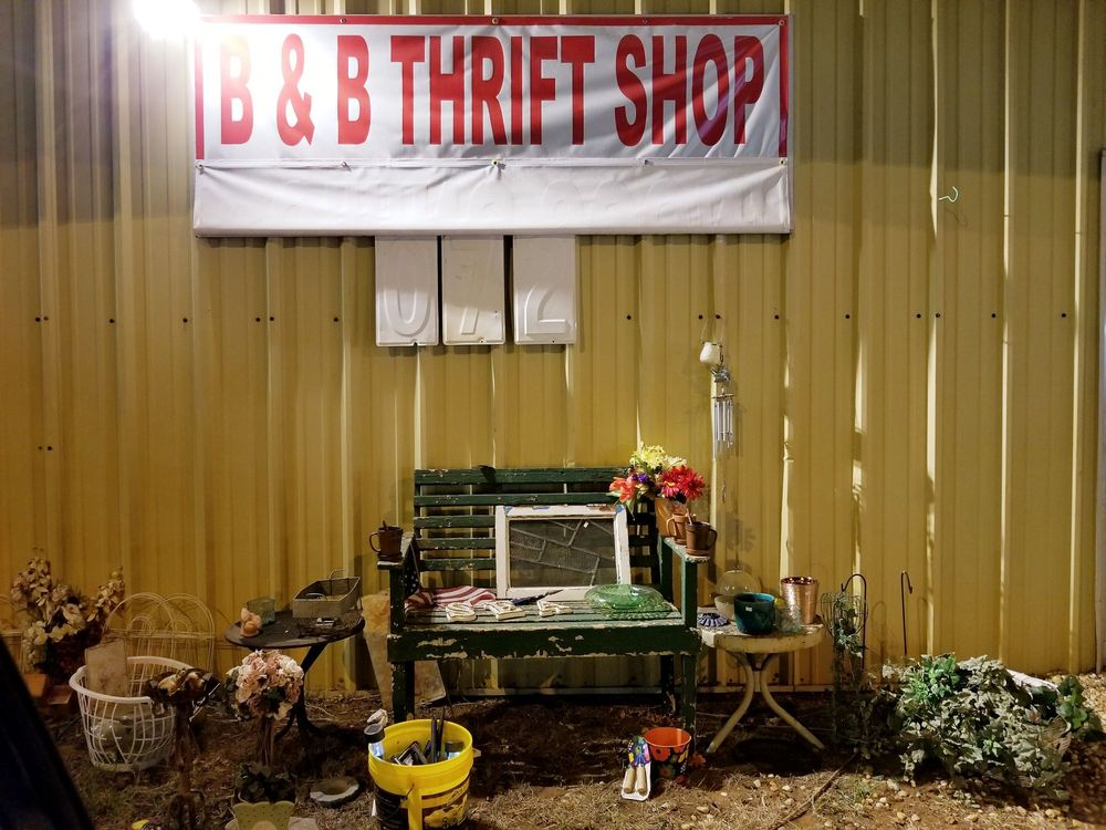 B&B Thrift Shop: 1072 N. Church St, Thomaston, GA