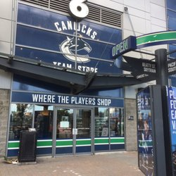 sale retailer 98936 93db3 Canucks Team Store - 800 Griffiths Way, Downtown, Vancouver ...