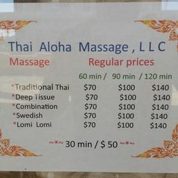 thai aloha massage 62 anmeldelser massage 94 366. Black Bedroom Furniture Sets. Home Design Ideas