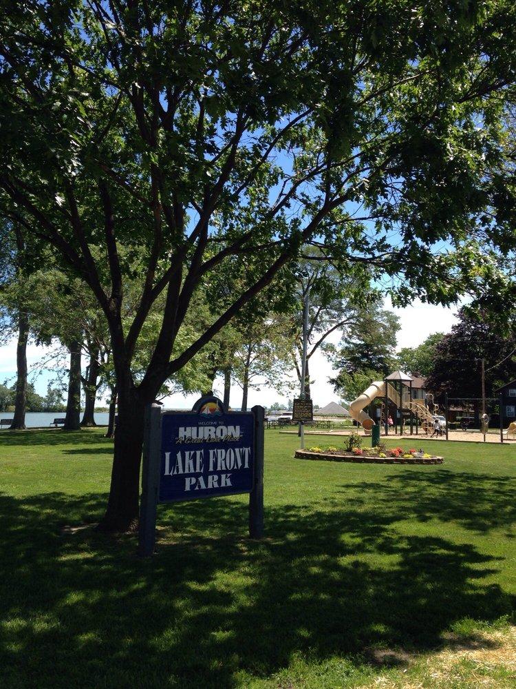 Lake Front Park: 310 Park St, Huron, OH