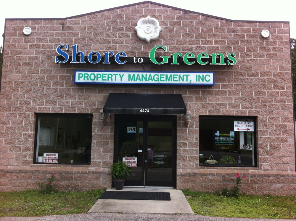 Shore To Green Property Management: 4474 Holmestown Rd, Myrtle Beach, SC