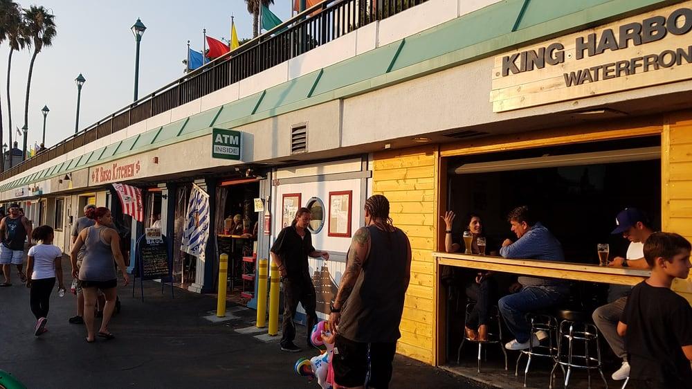 King Harbor Brewing Company Waterfront Tasting Room Redondo Beach Ca
