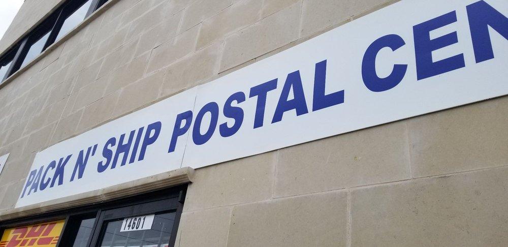 PACK N' SHIP Postal Center: 14601 Bellaire Blvd, Houston, TX