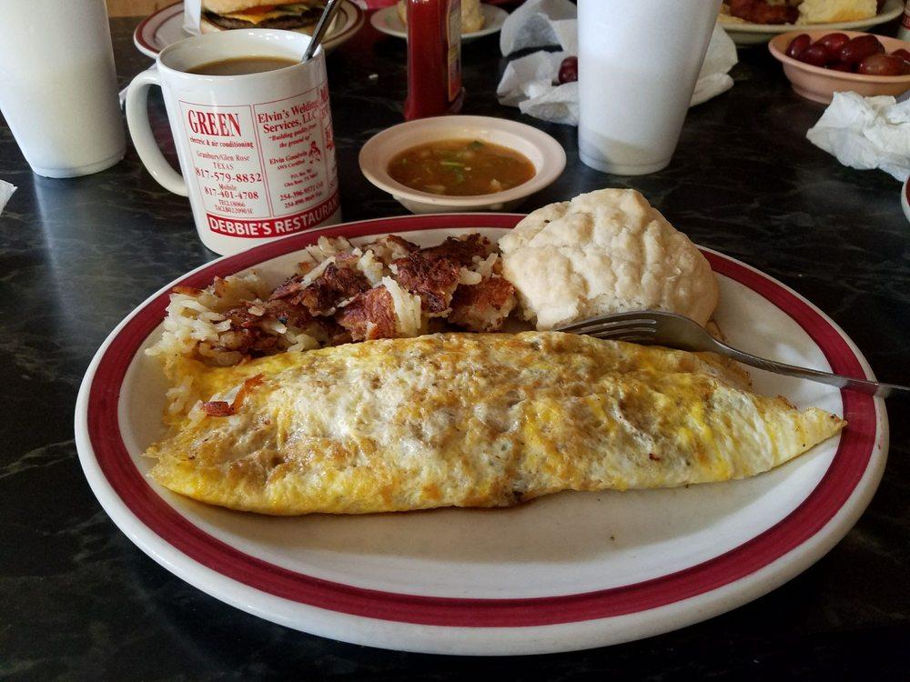 Debbies Restaurant: 1102 NE Big Bend Trl, Glen Rose, TX