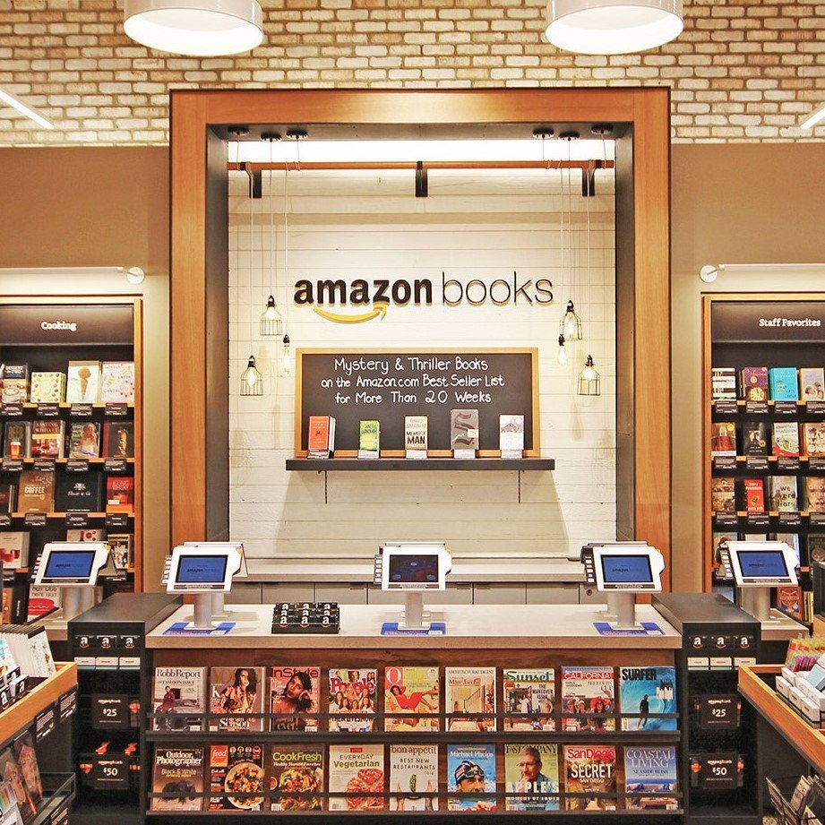 Amazon Books: 1259 Broadway Plaza, Walnut Creek, CA