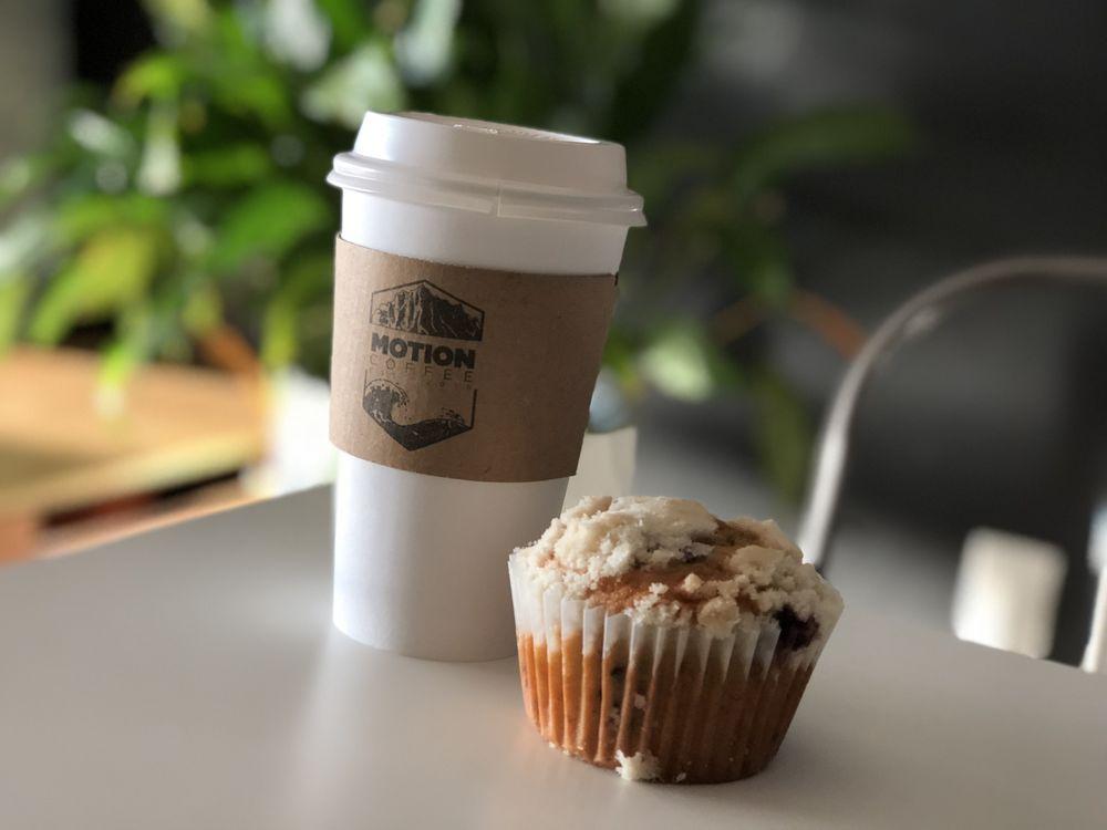Motion Coffee: 821 S Mustang Rd, Yukon, OK