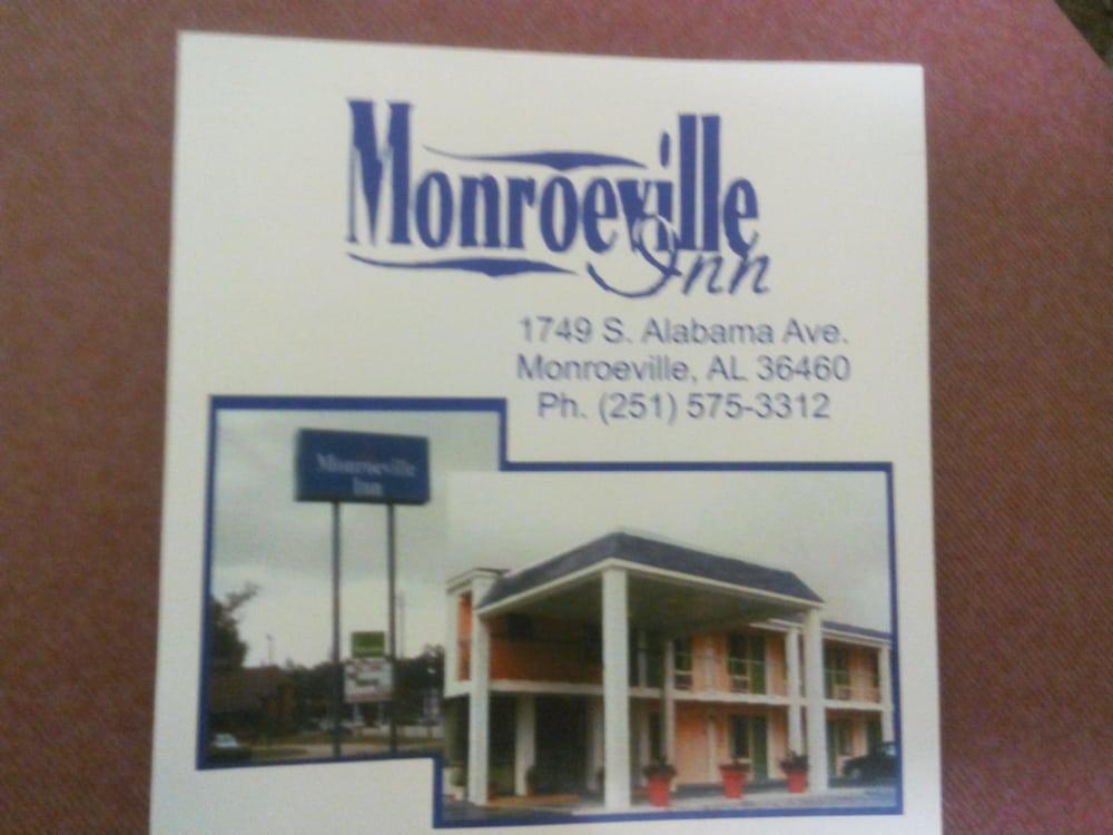 Monroeville Inn Hotels 1749 S Alabama Ave Al Phone Number Yelp