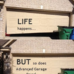 Photo Of Advanced Garage Door   Pflugerville, TX, United States. Repair  Doors Off. Repair Doors Off Track